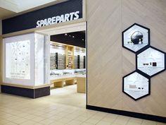 Spareparts Grand Prarie Alberta. Designed by Cutler #spareparts #retaildesign
