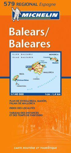 Mapa Regional Baleares (Carte regionali)  #ParquedeVigeland