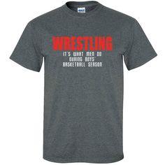 Image Sport Wresting What Men Do T-Shirt