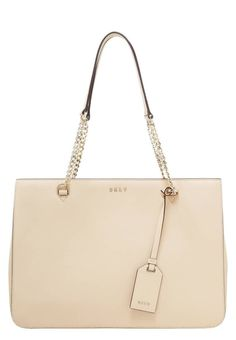 """BRYANT PARK  - Handbag - nude. Lining:textile. Compartments:mobile phone pocket. carrying handle:9.5 """" (Size One Size). Fastening:Magnet. height:9.5 """" (Size One Size). Outer material:leather. width:4.5 """" (Size One Size). length:13.5 """" (Size One Size). Pattern:plain"""