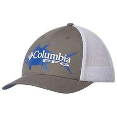 14dd3e63764 Columbia PFG Signature 110 Ball Cap - Titanium White Caps