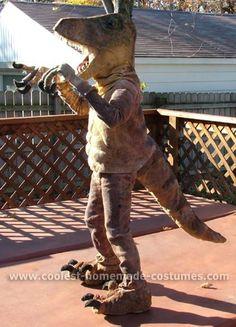 Coolest Homemade Dinosaur Costume Ideas