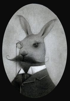 Monsieur Travis Louie gifted this fancy rabbit as a wedding gift to a beloved friend.