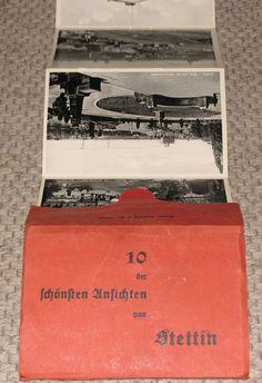 Leporello Stettin 10 der schönsten Ansichten von Stettin vor 1945 Ansichtskarten