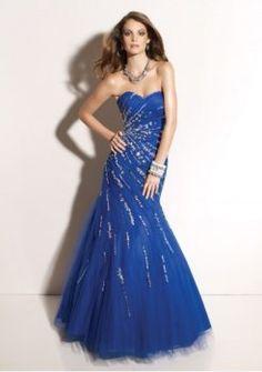 Mermaid-Stil mit elegant drapierten Rock 2312 neue sexy ballkleider