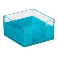 Memo Tray Blue - At Home