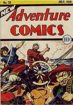 Cover for New Adventure Comics (DC, 1937 series) #28