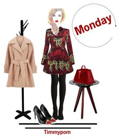 """""""Monday..."""" by timmypom ❤ liked on Polyvore featuring Marc by Marc Jacobs, Meli Melo, Yves Saint Laurent, Universal Lighting and Decor, 2NDDAY, women's clothing, women, female, woman and misses"""