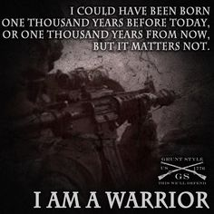 My boy has always been a warrior at heart and I am so proud of him!