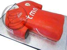 Benfica Soccer Jersey Cake