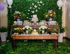 "Garden / Birthday ""Butterflies Garden"" 