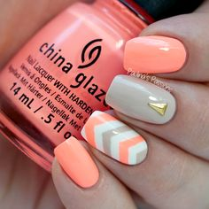 Summer Neon Nails by Paulina's Passions