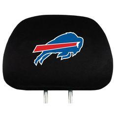 Buffalo Bills Stretchy Headrest Covers