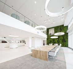 The Eneco Headquarters is Filled with Earth-Friendly Details #office #workplace trendhunter.com