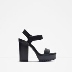Image 1 of PLATFORM SANDALS WITH TRACK SOLE from Zara