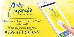 Win a $1,000 Visa Gift Card from Cupcake Vineyards