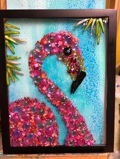 Broken Glass Crafts, Broken Glass Art, Sea Glass Crafts, Shattered Glass, Sea Glass Art, Mosaic Crafts, Mosaic Art, Mosaic Glass, Seashell Art