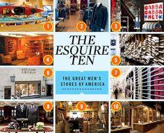 Esquires 10 best stores in america
