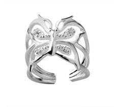 Tiffany Outlet Butterfly diamond Ring under $ 28.00