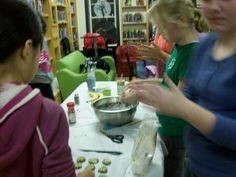 Port Jefferson teens make homemade dog treats