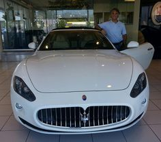 Renato flew in to Tampa to drive back to Atlanta in his beautiful new Gran Turismo convertible!  Mille grazie, Renato - from Dennis and the entire Maserati of Tampa team! #ReevesTampaFamily