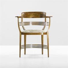 Armchair by Joseph Maria Olbrich