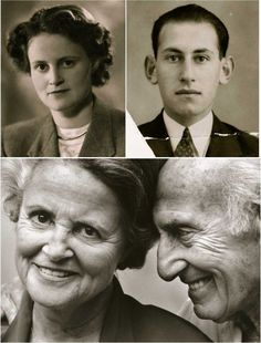 Jack & Ina Polak exchanged love letters in a nazi concentration camp.. They've been together 60 years.