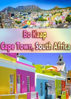 Bo Kaap - Cape Town, South Africa #travel