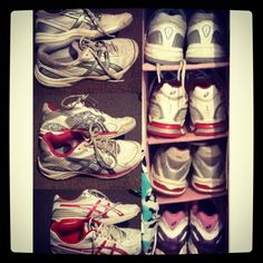 chookstarxx sent in their entry to WIN a brand new pair of ASICS shoes from our #DiamondASICS competition.