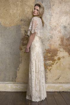 Carly Sally Lacock Bridal Gown Wedding Dress | http://www.rockmywedding.co.uk/fashion-pack/bridal-gowns/sally-lacock/sally-lacock-2015-bridal-gowns/