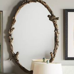 Great Deals on Eliana Oval Mirror in Antique Gold Leaf By One Allium Way Circular Mirror, Oval Mirror, Antique Clocks, Antique Gold, Art Nouveau, Traditional Wall Mirrors, Oversized Wall Mirrors, Gold Mirrors, Bathroom Mirrors