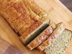 Pain Paléo sans farine - 150 g poudre d'amande - 2 C farine de noix de coco - 35 g graines de lin moulues - sel - 1 c bicarbonate - 3 oeufs - 4 C huile de coco - 1 C miel - 1 C vinaigre --> 30 minutes à 180°