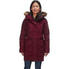 New Fjallraven Barents Insulated Parka - Women's Womens Clothing. offers on top store Bomber Coat, Parka Coat, Best Parka, Down Puffer Coat, Outdoor Apparel, Womens Parka, High Collar, Winter Coat, Winter Outfits