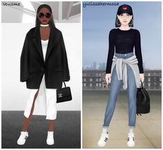 The Stylish Stardoll Sisters