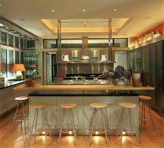 Kitchen dining lighting