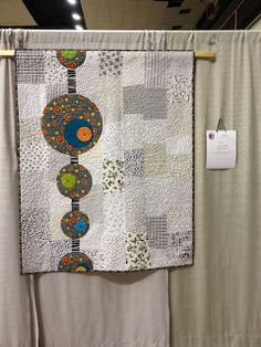 Meow quilted by Janet Watt of Maplewood Minn - pattern by Faye  Hoch - hanging at the minnesota quilt show
