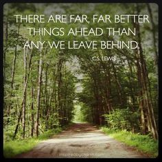 CS Lewis 'far better' quote.