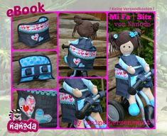 Nanodas kreative Welt: MiFa Sitz (Puppen Mitfahr Sitz)