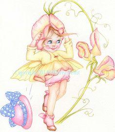 Sweet Pea Fairy Copyright © Myrea Pettit 2014