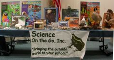 Science on the Go Wednesday, July 23, 4:00 to 5:00 p.m. Just think of Science on the Go like a moving museum! With a thirty-foot display, their mission is to teach children to inquire, learn and observe - what better way than to interact with live animals an to be a part of the show!