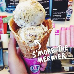 With a double scoop, there's s'more to love. #BRFlavors