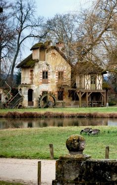 ♥ Marie Antoinette's home built in 1783 - France.