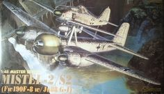 Model Dragon 5510 Mistel 2 / S-2 Fw190F-8 & Ju88 G-1
