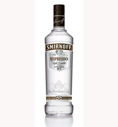 Limited Edition Smirnoff Espresso