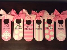 Baby Closet Dividers by TLCDesigned on Etsy, $35.00... Of course needs to be in boy colors :)