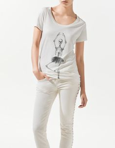 Dancing skeleton T-shirt - ZARA