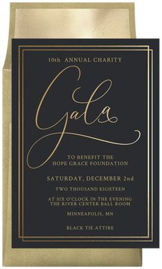 Simple Gala Invitations in Black - Gala İnvitation Gala Invitation, Invitation Card Design, Invitation Cards, Party Invitations, Gala Design, Gala Themes, Gala Dinner, Charity Event, Wedding Centerpieces