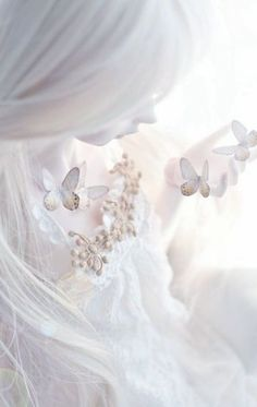 feminine and ethereal All White, Pure White, White Art, Shades Of White, White Aesthetic, Ball Jointed Dolls, Illustration, Fairy Tales, Delicate
