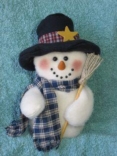 Snowman pattern: Winster 475 por adelinescrafts en Etsy