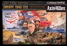 Axis and Allies 158731: Wizards Of The Coast Axis And Allies Europe 1940 Board Game -> BUY IT NOW ONLY: $80.56 on eBay!